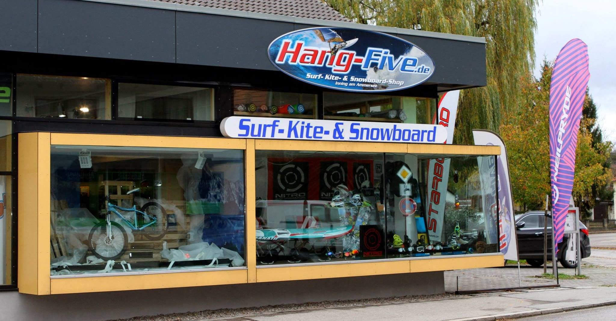 Hang-Five Surf- Kite- Sup- und Snowboard Shop